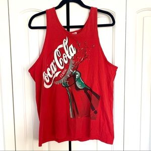 Vintage | CocaCola Bottle Red Tank Top